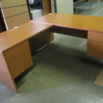 Light cherry TOS desk